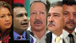 Ellos son, por ahora, los perredistas michoacanos que a nivel nacional han sido mencionados por estar sujetos a procesos de sanción –que podrían derivar en expulsiones-, personajes que como se puede ver en su mayoría han obtenido sus cargos políticos por la vía plurinominal