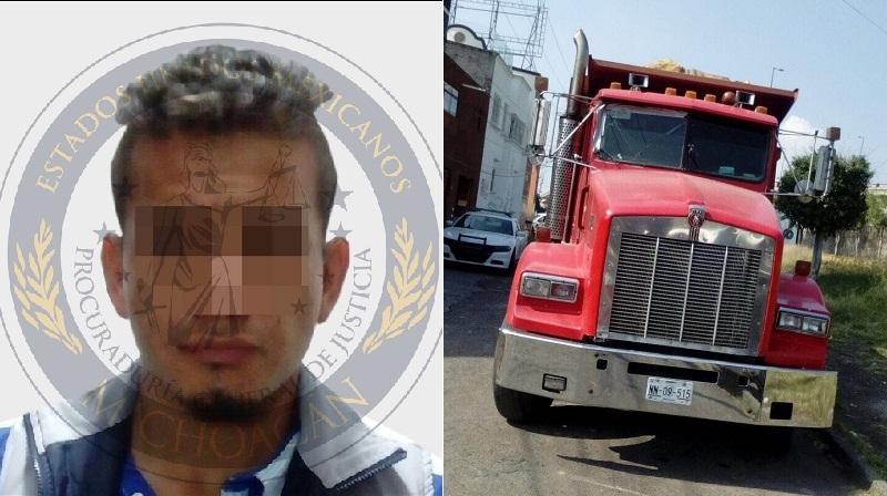 Tras lo ocurrido, el ofendido presentó la denuncia correspondiente que dio origen a la Carpeta de Investigación que permitió recuperar el vehículo con el apoyo de elementos policiacos de Tzintzuntzan cuando el camión era manejado con dirección a Quiroga