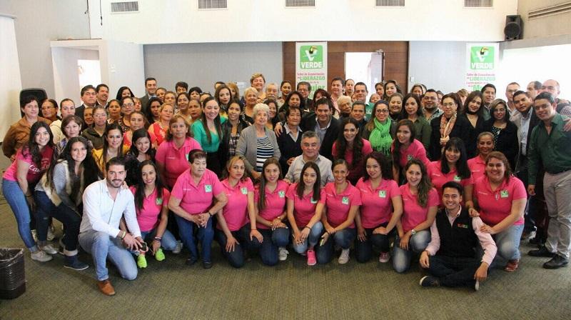 Promover la participación política de las mujeres, un compromiso del Partido Verde en Michoacán: Núñez Aguilar