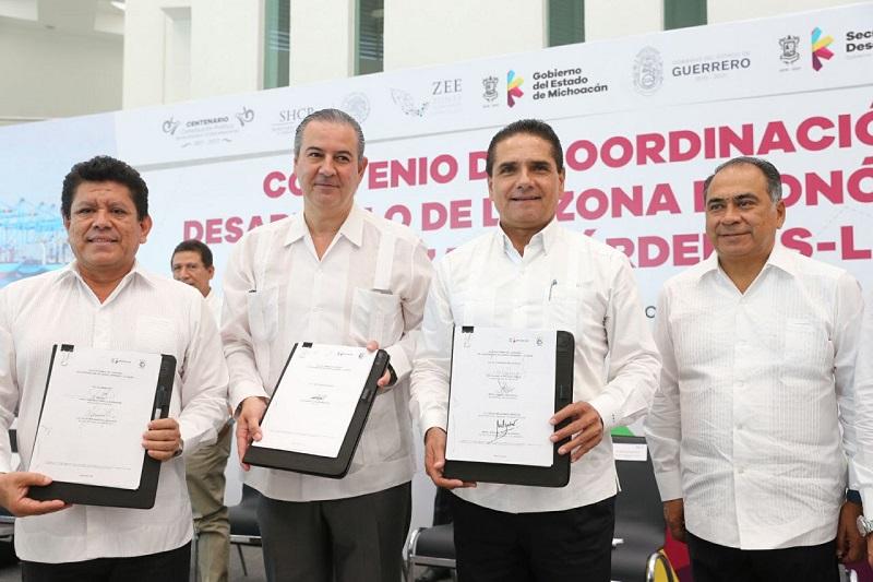 """Para contar con mayor seguridad y generar certeza, hoy inicia programa """"Lázaro seguro, tolerancia cero"""", destaca Aureoles Conejo"""