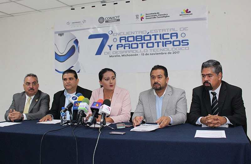 Las categorías de la contienda son: Prototipos de desarrollo tecnológico, Competencia de robots, así como de Robots con kits
