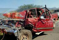 El conductor de la camioneta fue trasladado al IMSS Coplamar