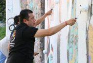 Barragán Vélez, mencionó que se está trabajando con empeño, determinación y mano a mano para lograr un cambio en la sociedad con ayuda de los ciudadanos