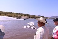 Gilberto Zarco dio a conocer que el pasado domingo en donde dio el banderazo a las actividades en San Jerónimo, se reportó gran afluencia en Huetamo de propios y visitantes, quienes celebraron que se volviera a realizar este evento luego de diez años