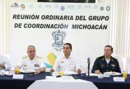 Aureoles Conejo pidió no bajar la guardia y seguir redoblando esfuerzos para generar certeza, paz y tranquilidad a las y los michoacanos, así como mejores condiciones de desarrollo social y económico en esta importante región de la entidad
