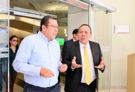 Barragán Vélez informó a Jesús Zambrano sobre la necesidad de mejorar los espacios educativos de la institución, y resaltó que desde su arribo al cargo el subsistema ha incrementado su cobertura con 28 extensiones