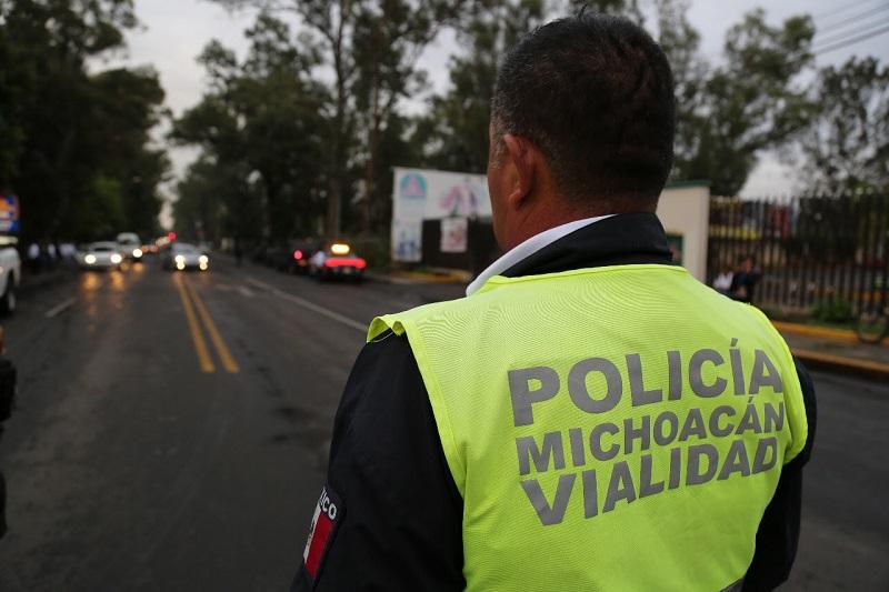 Con estas acciones la SSP promueve medidas de prevención de accidentes y de seguridad vehicular para un mejor entorno de las y los michoacanos, y hace un llamado para disfrutar en armonía estas fiestas