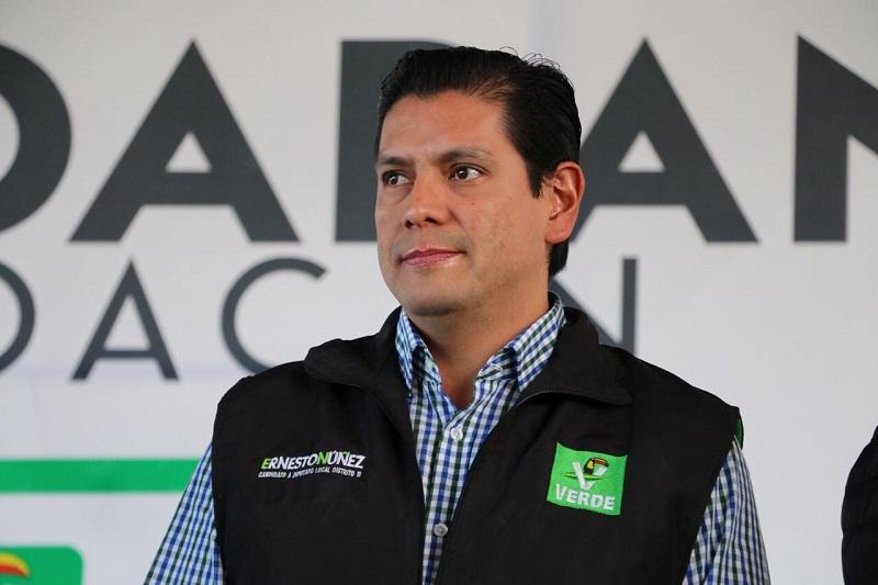 Núñez Aguilar se dijo satisfecho por el trabajo desempeñado en cada municipio y sus colonias, donde los liderazgos del Partido Verde han sido bien aceptados y reconocidos por la ciudadanía