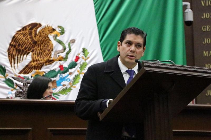 """""""Lo que es una realidad, es que las demás fuerzas políticas están preocupadas por la solidez que tiene el Frente y sobre todo lo consolidado que se encuentra en Michoacán"""", sentenció Núñez Aguilar"""