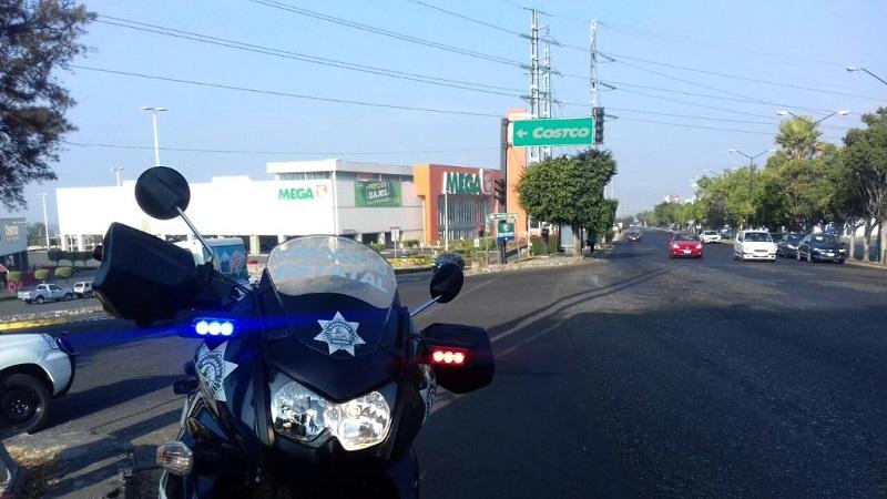 Agentes de la Policía Michoacán, en coordinación con autoridades de los tres órdenes de gobierno, realizarán recorridos pie tierra y patrullajes en vehículos para que todo transcurra en completa calma y así garantizar la tranquilidad
