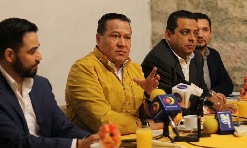 En otro tema, García Avilés, destacó que el PRD en Michoacán obtuvo una calificación del 97.75% en transparencia