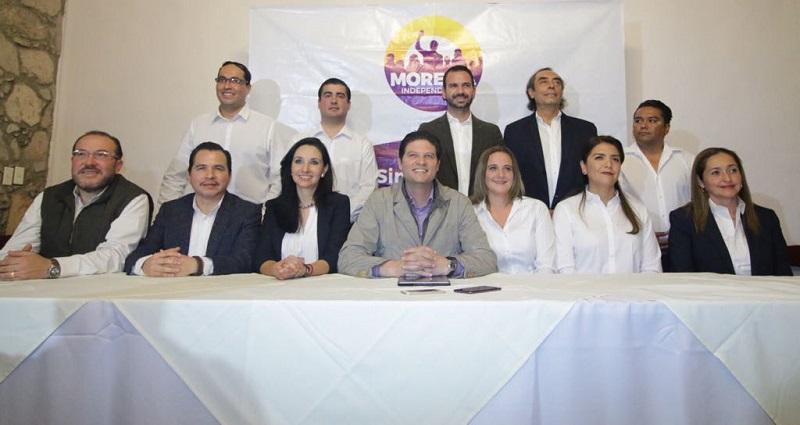 Para la Presidencia Municipal de Morelia, se registró una planilla de aspirantes independientes que encabeza Alfonso Martínez
