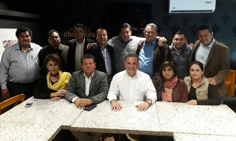 Cabe señalar que durante la reunión, se contó con la presencia de Javier Maldonado Torres, Presidente del Comité Ejecutivo Municipal del PRD; Raúl Montes Polvorilla, el Secretario General; Laura Garfias Tello, Secretaria de Organización, entre otros
