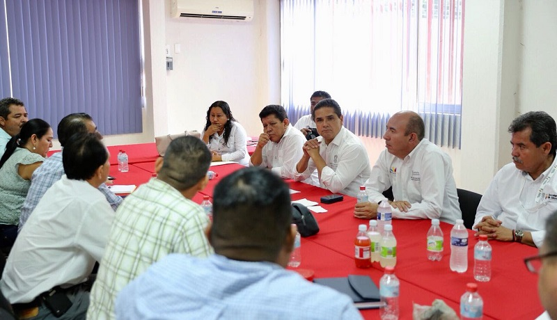 Los representantes magisteriales reconocieron la gestión realizada por el Gobernador que ha permitido que la administración estatal cubra sus compromisos económicos