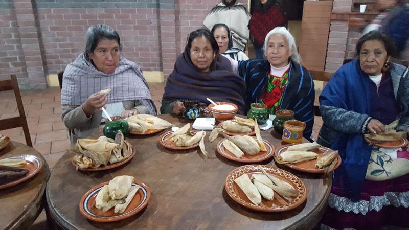 Esta noche, la precandidata y quienes la acompañan se encuentran sanos y salvos en el municipio de Paracho