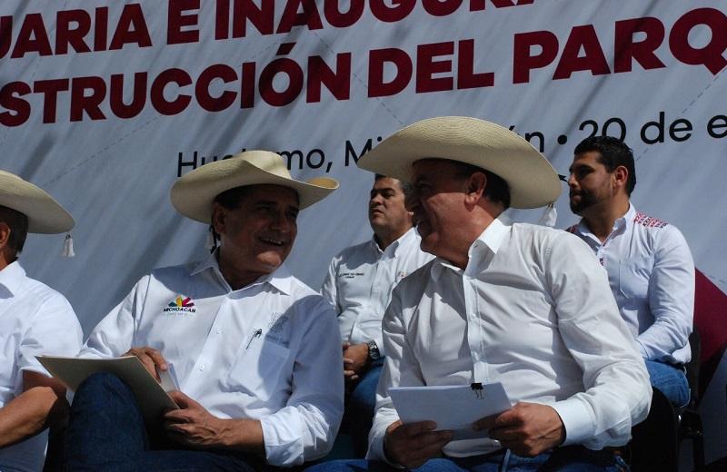 Sigala Páez ejemplificó para darse una idea, que los 329 kilómetros rehabilitados representan una distancia de Huetamo a la ciudad de México