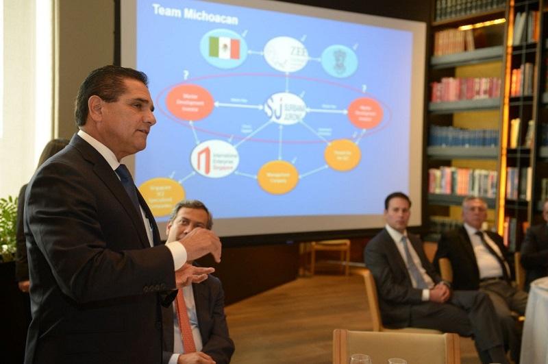 """""""Quiero que Michoacán sea la Zona Económica que marque la diferencia en México. Ya tiene bases sólidas para seguir avanzando y tengan la certeza de que lo seguiremos impulsando"""", afirmó el mandatario estatal"""