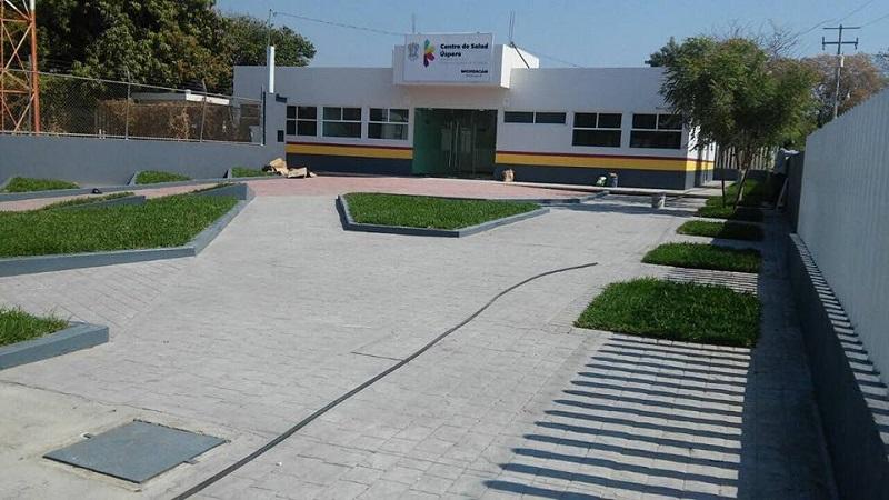 Recientemente, terminó la edificación del centro de salud de núcleo básico de la Comunidad Modelo