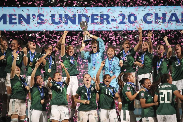 México, Estados Unidos y Haití representarán a Concacaf en la Copa Mundial Femenina Sub-20 de la FIFA 2018, del 5 al 24 de agosto en Francia (FOTO: MEXSPORT)