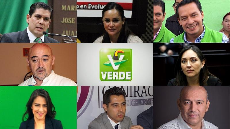 Así las cosas hasta ahora en el Partido Verde en Michoacán, pero seguramente esta misma semana habrá más novedades
