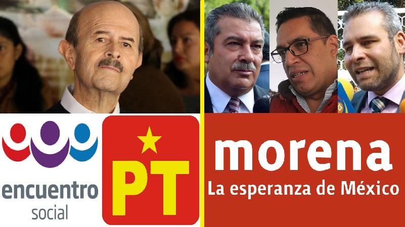 Las cosas siguen igual, en el Morena juegan a tener un partido político, pero el dueño toma las decisiones importantes