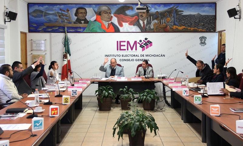 El Consejo General del IEM respondió a solicitudes hechas por aspirantes a candidatos independientes en Sixto Verduzco y Zamora