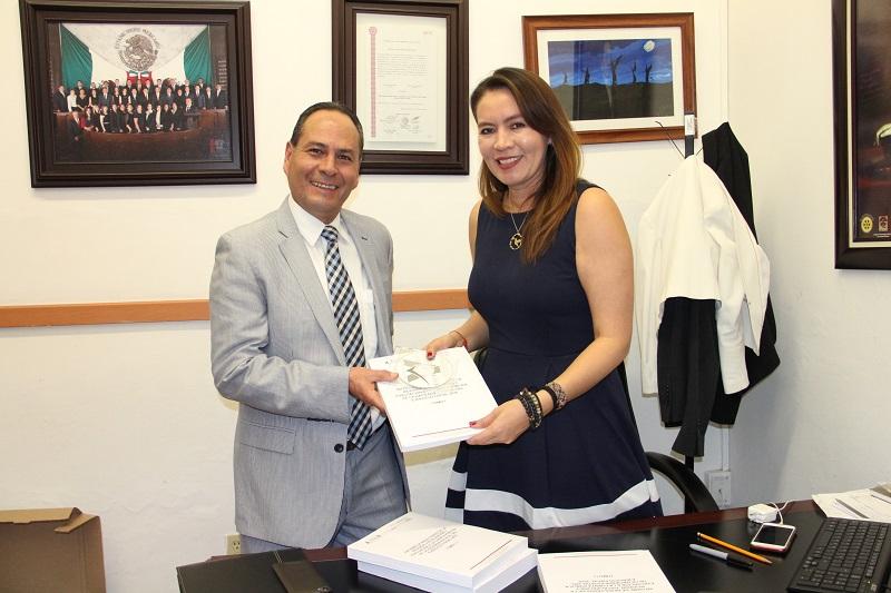 La diputada del PRI refrendó su compromiso con la transparencia y rendición de cuentas