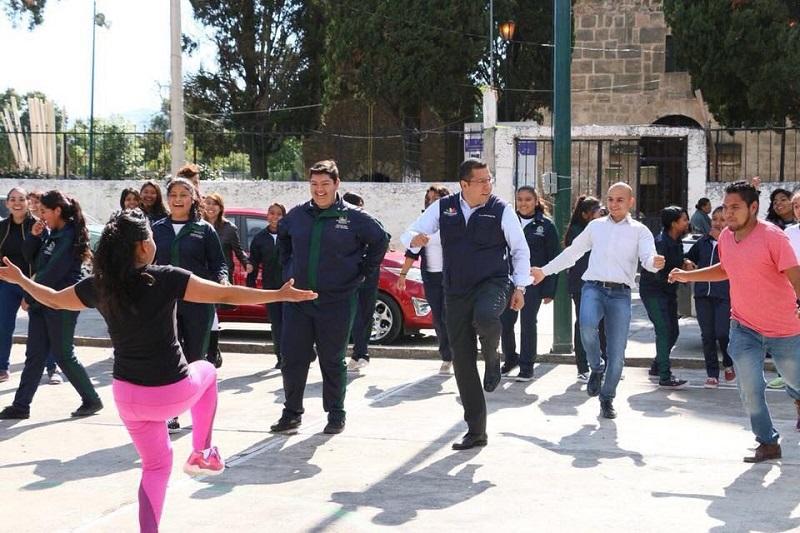 Telebachillerato Michoacán busca incentivar a sus estudiantes y trabajadores a tener estilos de vida más saludables