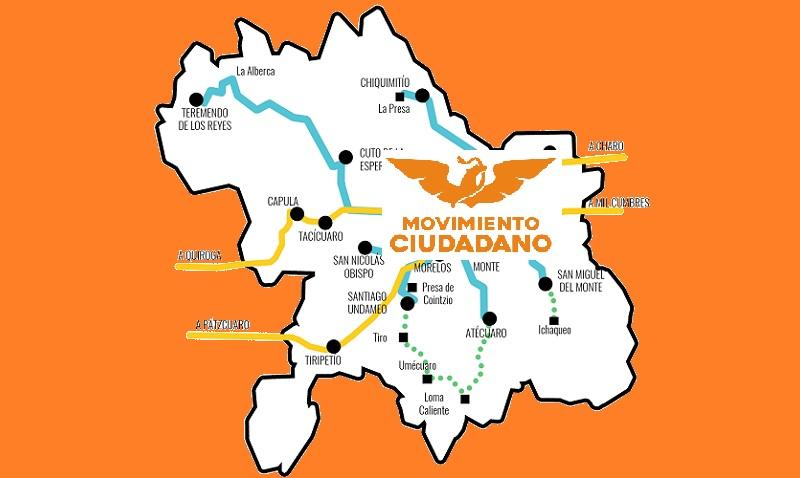 Aquí el recuento del partido naranja en Morelia, pero muy pronto iré dando detalles de cómo va también en los principales municipios de Michoacán