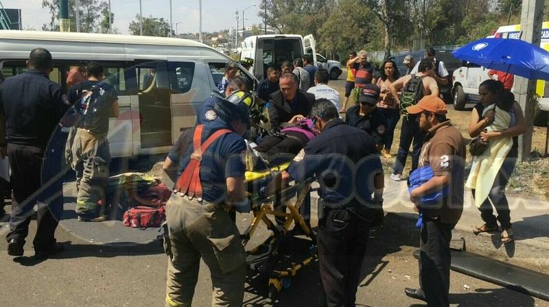 Al lugar arribaron elementos de la Policía Michoacán, Bomberos Municipales, CRUM así como unidades médicas privadas