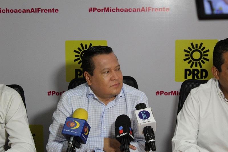 García Avilés reconoció el trabajo que se realizó durante varios meses para que este fin de semana fuera aprobada por los consejeros estatales la lista de candidatos y candidatas a las alcaldías y diputaciones locales