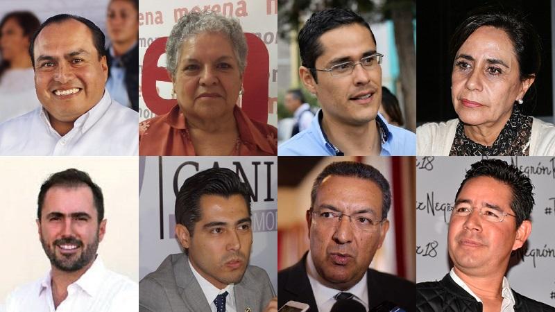 Al menos que una cosa muy rara suceda a la hora de dictaminar las candidaturas en el INE o en los tribunales, éstas serán las ofertas que se presentarán a los ciudadanos para las diputaciones federales en Morelia