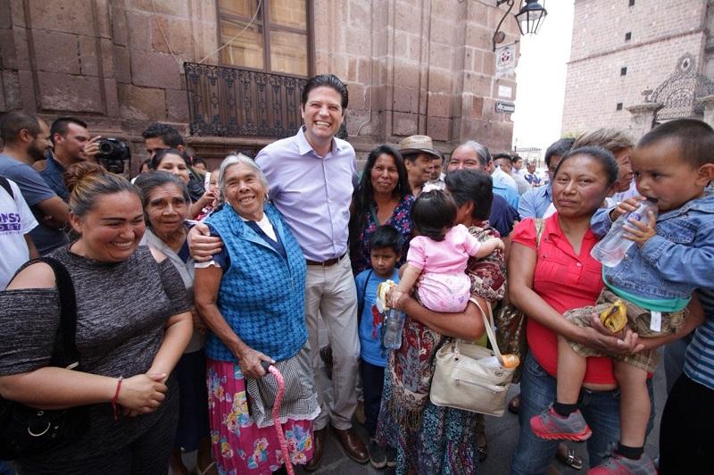 Dice Martínez Alcázar que Morelia hoy es la ciudad en el país con la mejor recuperación turística
