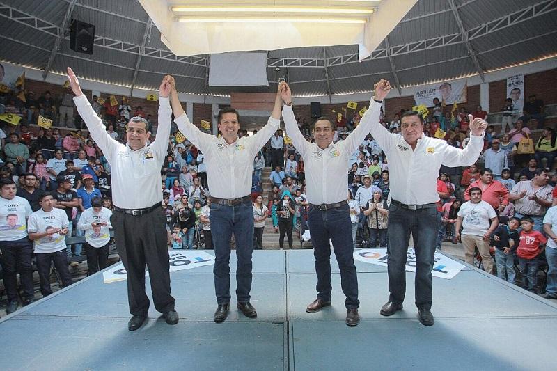 Ante miles de simpatizantes y ciudadanos en general, Toño García puntualizó que además de fortalecer la difusión de los Pueblos Mágicos, velará por su preservación arquitectónica y cultural