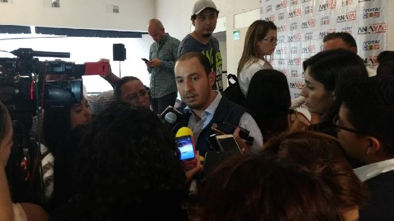 Marko Cortés recordó que al inicio de su administración, Alfonso Martínez tenía una nómina anual en el Ayuntamiento de Morelia de unos 500 millones de pesos, misma que en poco tiempo se duplicó hasta los 1000 millones de pesos