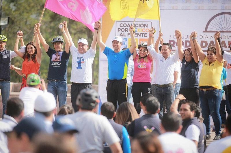 Cabe hacer mención de que también tuvieron participación los candidatos a diputados locales del Frente por Morelia