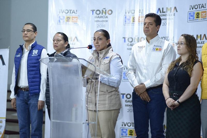 Es inaceptable e injusta la medida emitida por el Gobierno de EU respecto al Tratado Libre de Comercio: Alma Mireya González