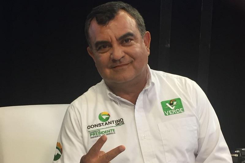"""Constantino Ortiz retó a los contendientes por la vía Independiente, Alfonso Martínez y por el PES, Fausto Vallejo, a no temer y negarse a los debates, como lo han hecho en los últimos días y """"a hacerlo conmigo, me adapto a sus agendas para que realmente hagamos público lo que cada quien propone"""