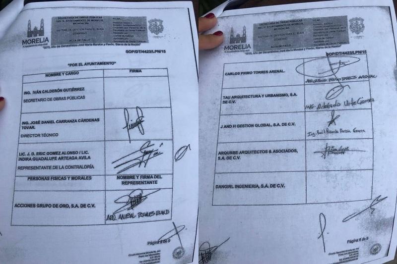 De acuerdo con Chávez Zavala, las irregularidades son diversas, entre las cuales enumeró las bancas de 54 mil pesos cada una, cuando las más caras que se han encontrado haciendo cotizaciones son por 17 mil pesos