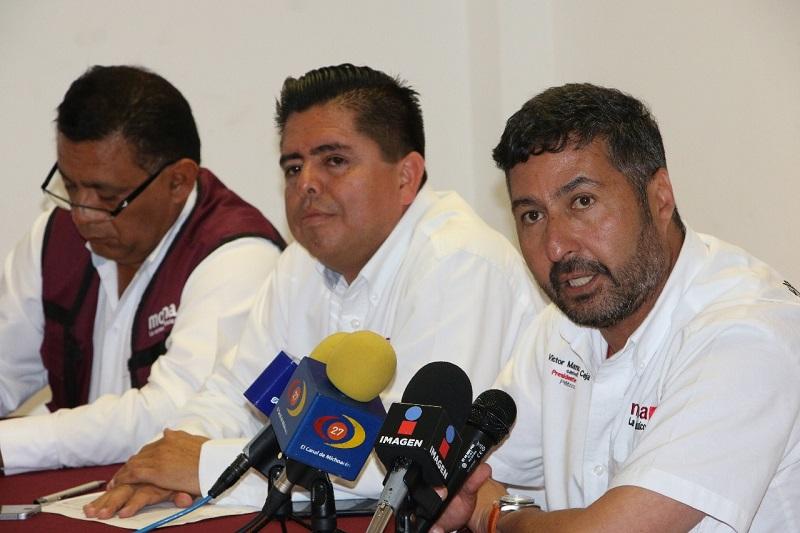 El dirigente estatal de MORENA anunció que en las siguientes horas presentarán recurso legal ante la FEPADE