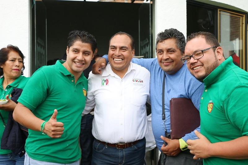 Gerónimo Color ratificó su compromiso por legislar en favor del crecimiento de Morelia, pero particularmente destacó el importante papel que cada trabajador tendrá en la próxima administración
