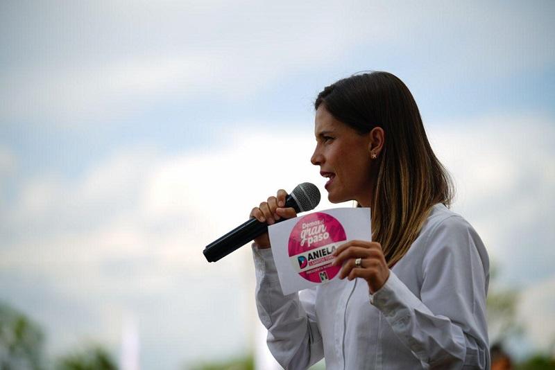 Daniela de los Santos aseguró que su gobierno será ejemplo de honestidad y que no permitirá una sola obra por ocurrencia