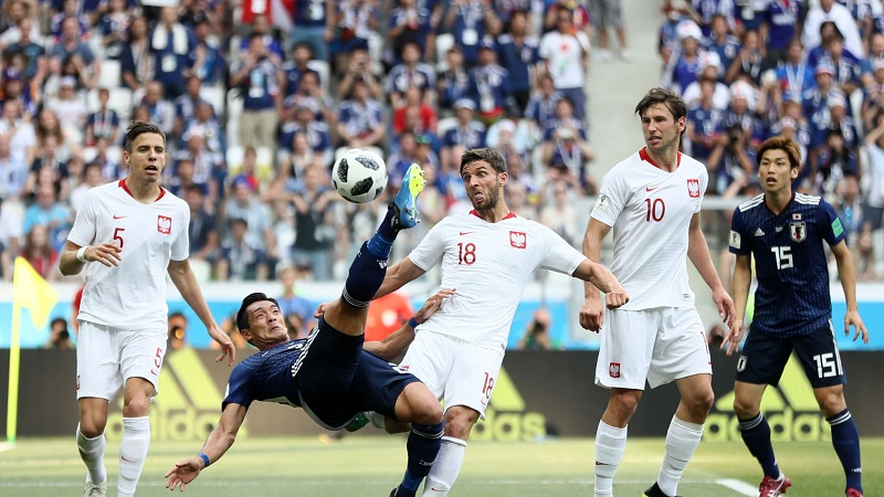Es la tercera vez que los nipones superan la liguilla en una Copa Mundial, después de hacer lo propio en 2002 y 2010