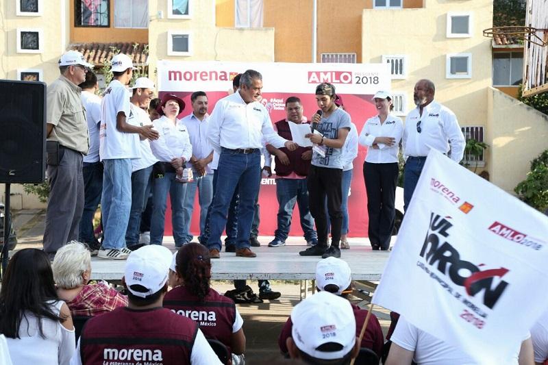 El candidato de AMLO a la alcaldía de Morelia llamó a los demás aspirantes a que se conduzcan con apego a la legalidad y que demuestren respeto a la voluntad de los morelianos