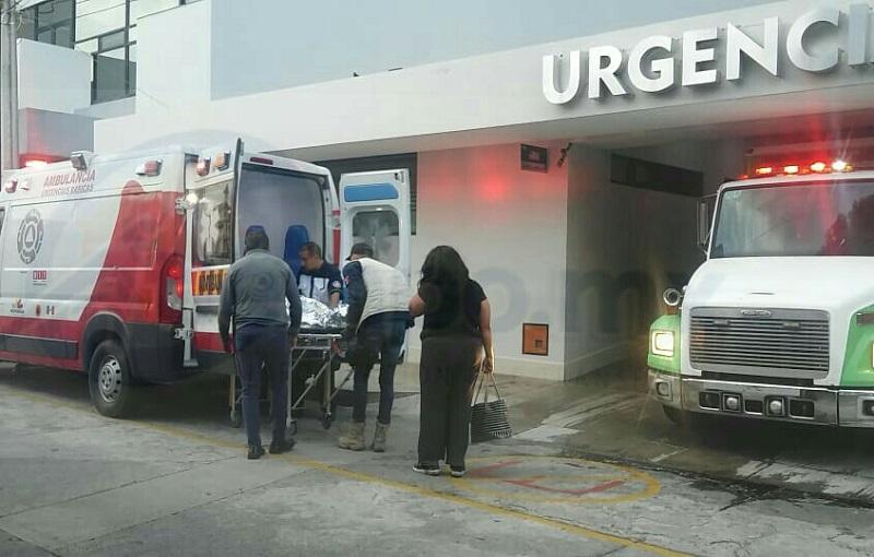Se brindaron las primeras atenciones a Esperanza A., de 41 años, Rafael V., de 40 años y Estefany R., los cuales fueron trasladados a un hospital privado del municipio de Uruapan para recibir atención médica