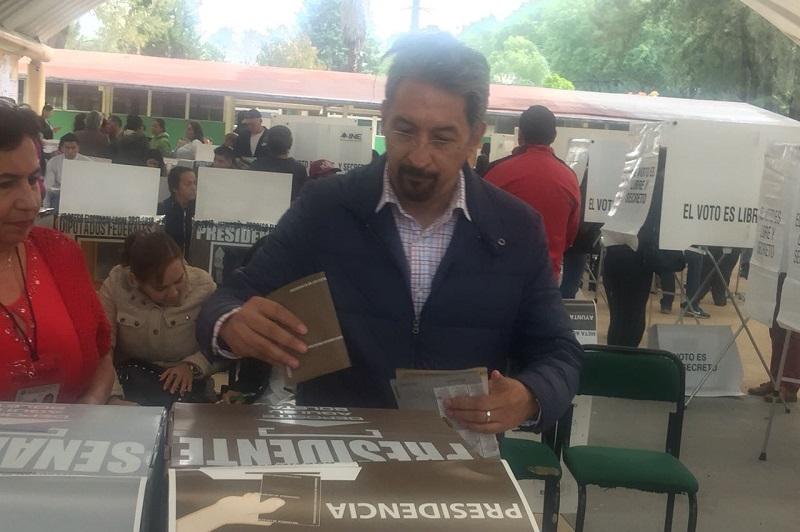 El rector de la UMSNH convocó a los michoacanos a hacer uso de su derecho y asumir su rol social en la elección de los representantes populares
