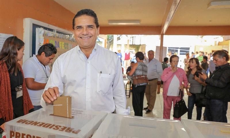 Sin incidentes mayores se desarrolla el proceso electoral hasta el momento; hay certeza de que los comicios culminen con tranquilidad en Michoacán, asegura