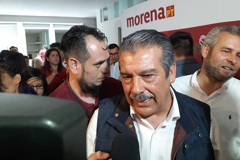 Morón Orozco ofreció trabajo coordinado con el gobierno federal que encabezará el tabasqueño, así como con el gobierno estatal que encabeza Silvano Aureoles