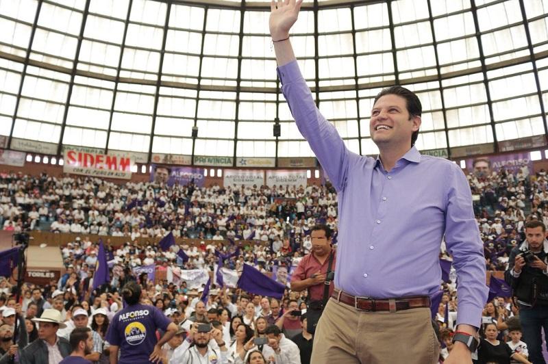 Martínez Alcázar se dijo honrado de haber logrado desde hace más de tres años grandes cambios para Morelia