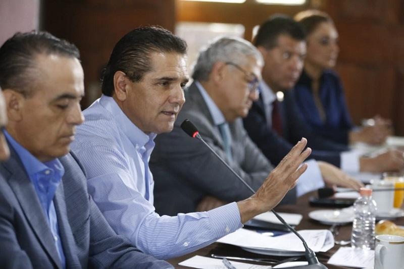 """""""El diálogo siempre ha sido fundamental para continuar trabajando con orden y civilidad en la resolución de las diferentes problemáticas"""", dijo el mandatario michoacano"""